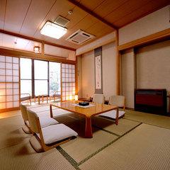 【禁煙】2階和室12畳+広縁4畳【Wi-Fi/お部屋も温泉】