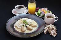 【冬季限定】宮島牡蠣を使ったホワイトカレーランチつき1泊2食プラン