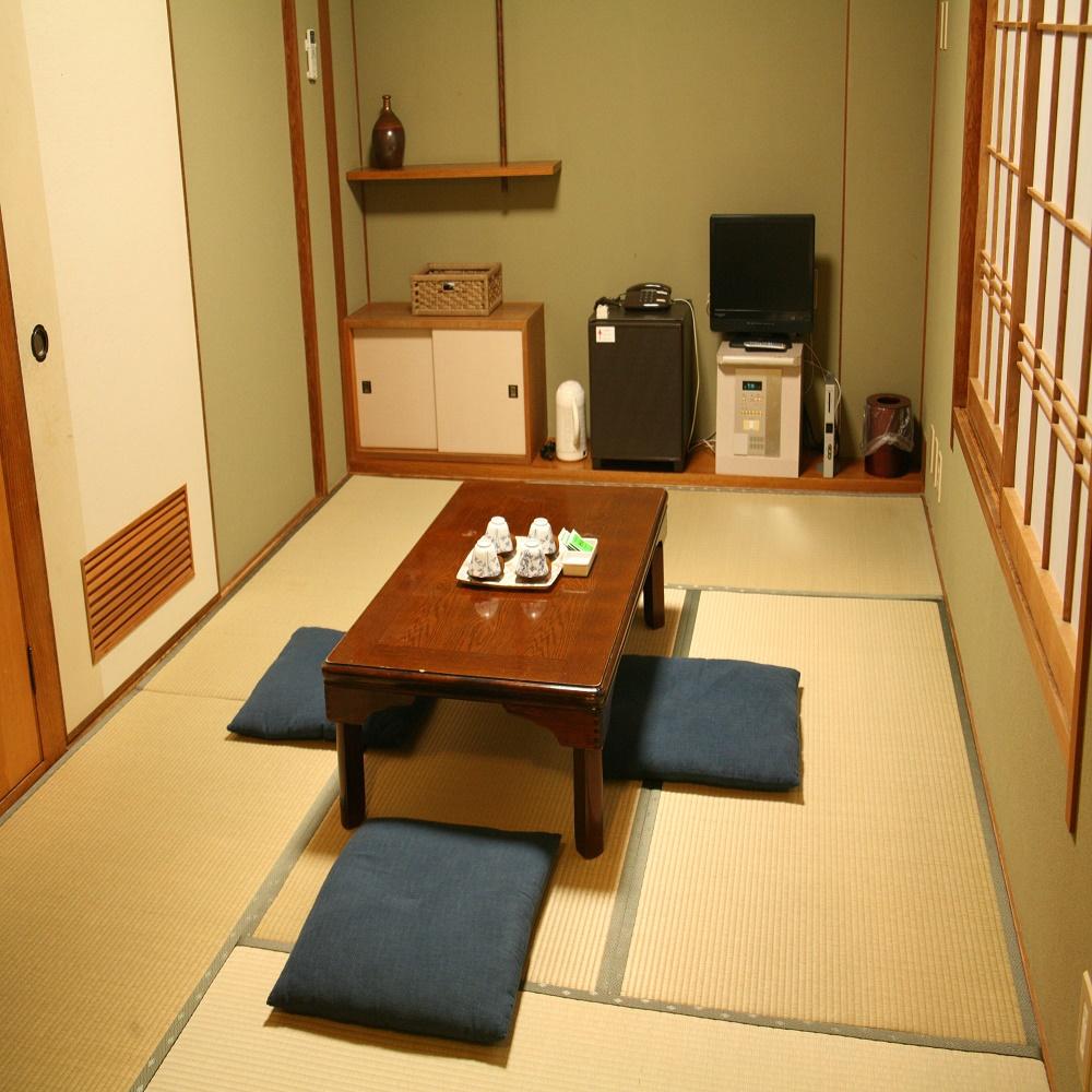 【和室 8畳】ファミリーやグループに最適の宿泊プラン  Wi-Fi完備!