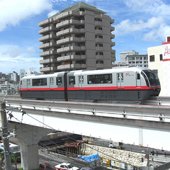 モノレール乗り放題券付プラン18時〜1日◆観光やビジネスに便利!駅隣
