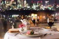 【美夜景ダイニング】セルリアンフロアグレードアップバージョン 〜ゆったりと、二人だけのレストラン〜
