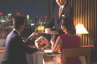 【バースデーステイプラン】ゆったりと、二人だけのレストランでお誕生日を 〜セルリアンフロア〜