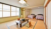 【禁煙】特別室・和洋室20畳&ツインベット・バストイレ付