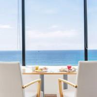 【オーシャンホテル自慢の朝食バイキング】太平洋を目の前に望むホテルでゆったりSTAY
