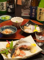 【石巻の魚をあてに】晩酌セット付きプラン