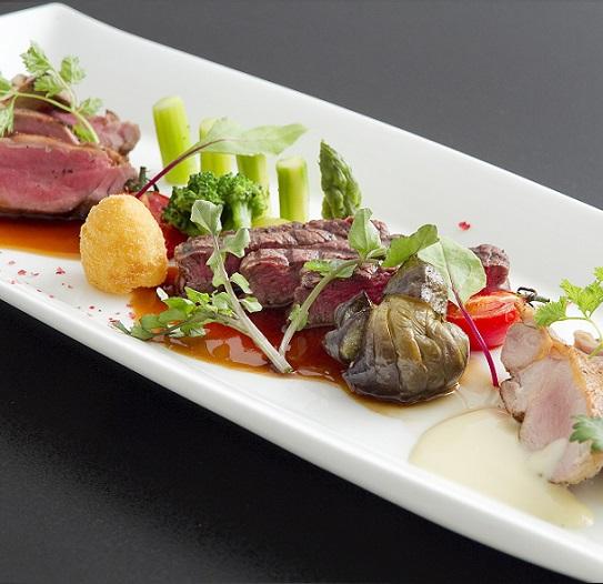 【肉・肉・肉】★3種類のお肉料理が一度に楽しめる特別グルメプラン♪