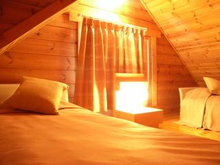 【添い寝無料】ログハウス素泊まりプラン♪2〜4名様用(一部の棟はペットOK)