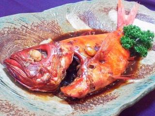 【伊勢海老も金目鯛も贅沢ごはん】地物ボイル伊勢海老と金目鯛こってり丸煮プラン【冬得】