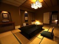 最上階12畳+6畳+応接付和室又、12.5畳以上の特別室