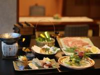 《夕食はお部屋食確定》「季節のおすすめ会席」をプライベート空間のお部屋食で♪