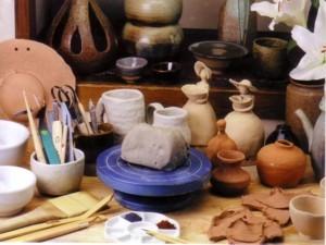 カップルで陶芸体験