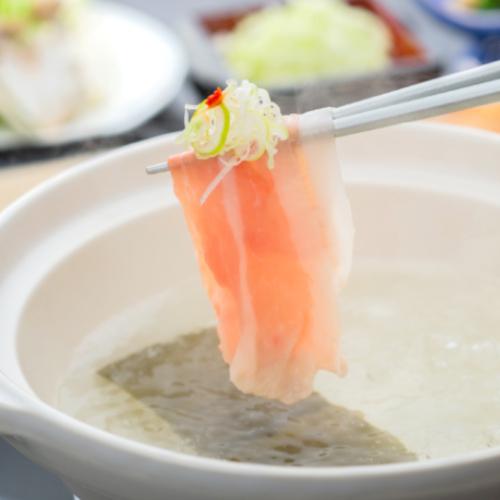 ☆☆絶品おすすめ鍋☆☆「豚しゃぶ」の御夕食付きプラン