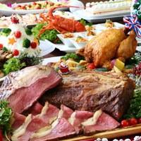 【12月23日〜25日限定】ローストビーフにグリルチキン★豪華クリスマスディナーを堪能(夕朝食付)