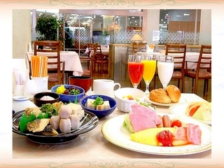 【期間限定 駐車場無料】ご朝食付きプラン(和洋バイキング)