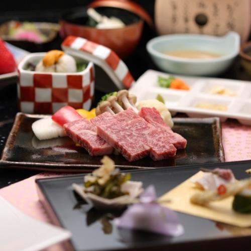 きめ細かな霜降りの特選神戸ビーフをお好みの焼加減で〜神戸牛ステーキ会席プラン
