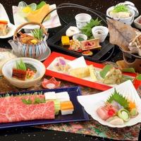 【秋冬旅セール】ブランド牛「神戸ビーフ」しゃぶしゃぶ付全12品の和会席を部屋食で♪季節の和会席プラン