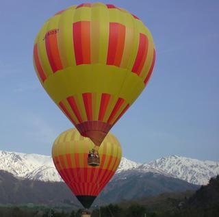 熱気球に乗ろう!!係留体験+宿泊+温泉貸切プラン