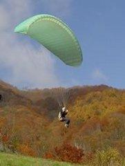 「五竜を飛ぶ!」パラグライダー体験プラン&貸切温泉