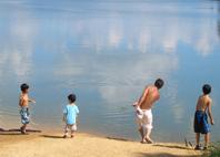 写真6水遊び