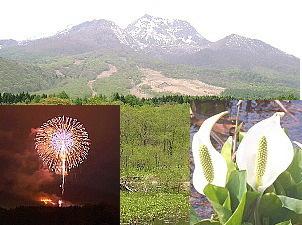 【GW 春得!妙高山の新緑!】妙高山「艸原祭」大かやば焼き&水芭蕉祭り!