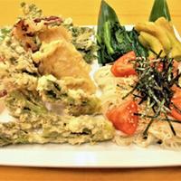 【5月限定】板長特選★「山菜天婦羅盛り合わせと素麺」★【2食付】
