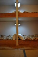 スキー宿風二段ベッドルーム
