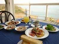 【朝食付プラン】海を見ながら朝食を♪