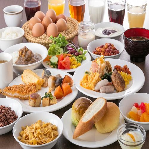 【朝食ビュッフェ付】お部屋タイプはお楽しみ♪シンプルステイ2〜4名様