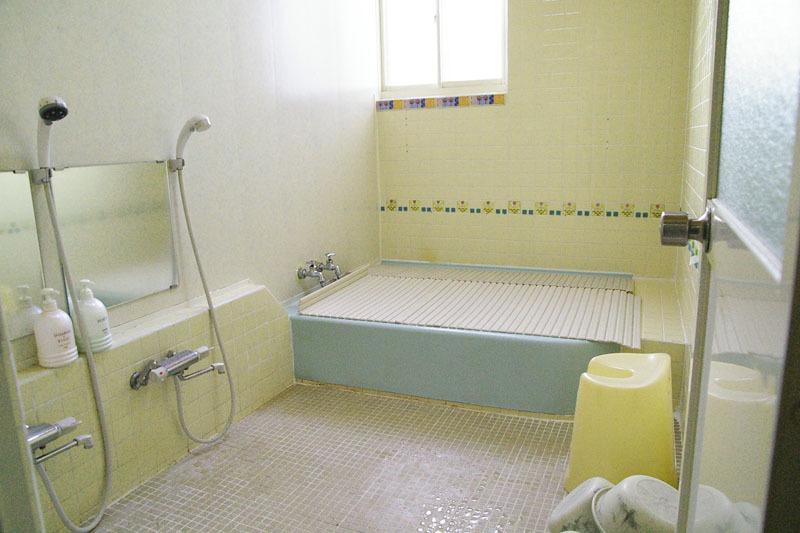 ミルキーハウスのバスルーム