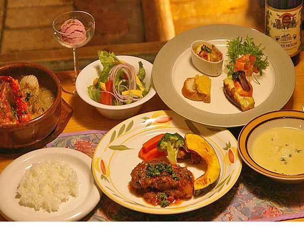 洋食 フルコースディナー
