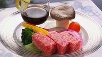 【山形の食材を堪能プラン】質の良い食材を少量づつ〜特選山形牛ステーキ・日本海の鮮魚など〜