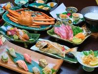 【料理長厳選会席〜冬〜】 ★「ぶり」「蟹」「のどぐろ」★北陸の三大美味競演♪