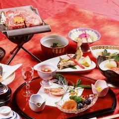 【楽天限定】九州露天風呂自慢ノミネート記念温泉&食事(特選和牛)グレードアップ/メインが2種類付き