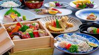 【部屋食☆料理アップ】夫婦旅に人気の豊後牛と旬の地魚などを贅沢に楽しむ特選会席