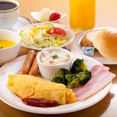 【朝食付】1日の始まりは朝食から!Web限定プラン 全室Wi-Fi/高速LAN接続無料!