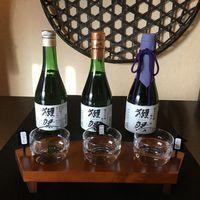 【プレミアムフライデー】獺祭の利き酒セット無料サービスプラン