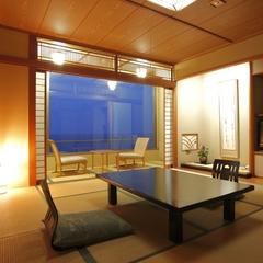 ◆オーシャンビュー 日本海を一望!◆禁煙 海側 和室 10畳
