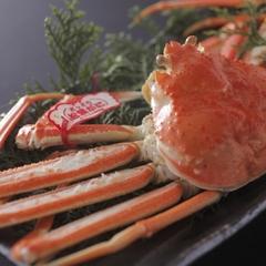 ◆冬P◆活松葉蟹を1枚使用◆質・量ともに納得のかに三昧会席『特選』◆活蟹を食べたいカップルにオススメ