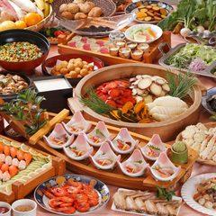 【一泊二食】◆◇季節を愉しむバイキングプラン◇◆刺身盛り1皿付☆