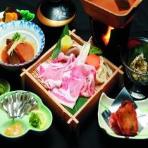 【2食付】 ご夕食選択プラン 〜薩摩料理・刺身・天ぷら・黒豚〜  【駐車場無料・天然温泉有】☆