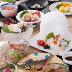 【2食付】 夏の料理長おすすめプラン 〜涼しげなお料理と生ビール〜☆