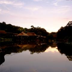 【レディース】彦根城内で宿泊◆大名庭園を眼前に臨む宿◆<WiFi完備>※現金特価