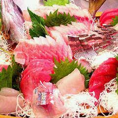 プレミアムフライデー限定・金曜日はプレモル飲み放題 伊豆の地魚の刺身とご一緒に