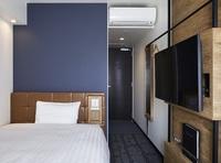 禁煙ダブルA/ベッド幅140cm/13平米