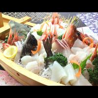 祝!三方五湖スマートIC開通☆特典付き☆アワビ、地魚姿造りを楽しむプラン【松-matsu-コース】