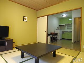 森の風館 8畳和室 シングル利用可◇WiFi完備