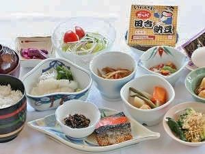 【地元農家ふじたさんのお米が人気!】朝食付プラン