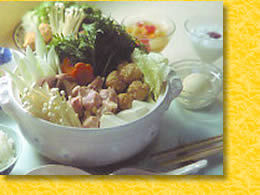 【すべっ得】石打丸山スキー場リフト1日券付!夕食は名物、鶏鍋食べ放題!