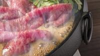 【心にググっと×グレードアップ】平日限定お食事は上州牛すきやき&ギンヒカリのお刺身プラン★2食付き