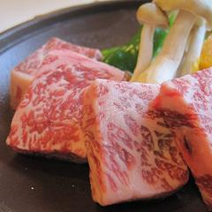 焼きしゃぶ&但馬牛サイコロステーキ★上質なお肉で大満足★